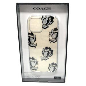 Coach Slim Clear Case for iPhone 12 12 Pro -Tulip